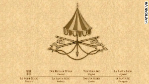 El sitio web del Vaticano cambió su portada para reflejar la sede vacante