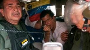 Leopoldo López se entregó a las autoridades el 18 de febrero de 2014.