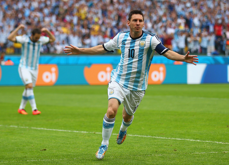 Lionel Messi despuntó en el Sudamericanio Sub 20 de Colombia en el 2005. (Crédito: Paul Gilham/Getty Images)