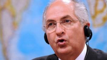 Antonio Ledezma fue detenido en febrero de 2014 (Evaristo Sa/AFP/Getty Images)