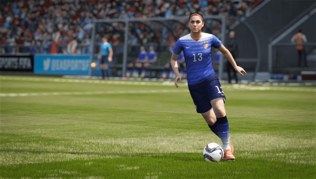 El FIFA 16 incluirá selecciones femeninas por primera vez.