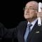 Blatter lleva 17 años al frente de la FIFA.
