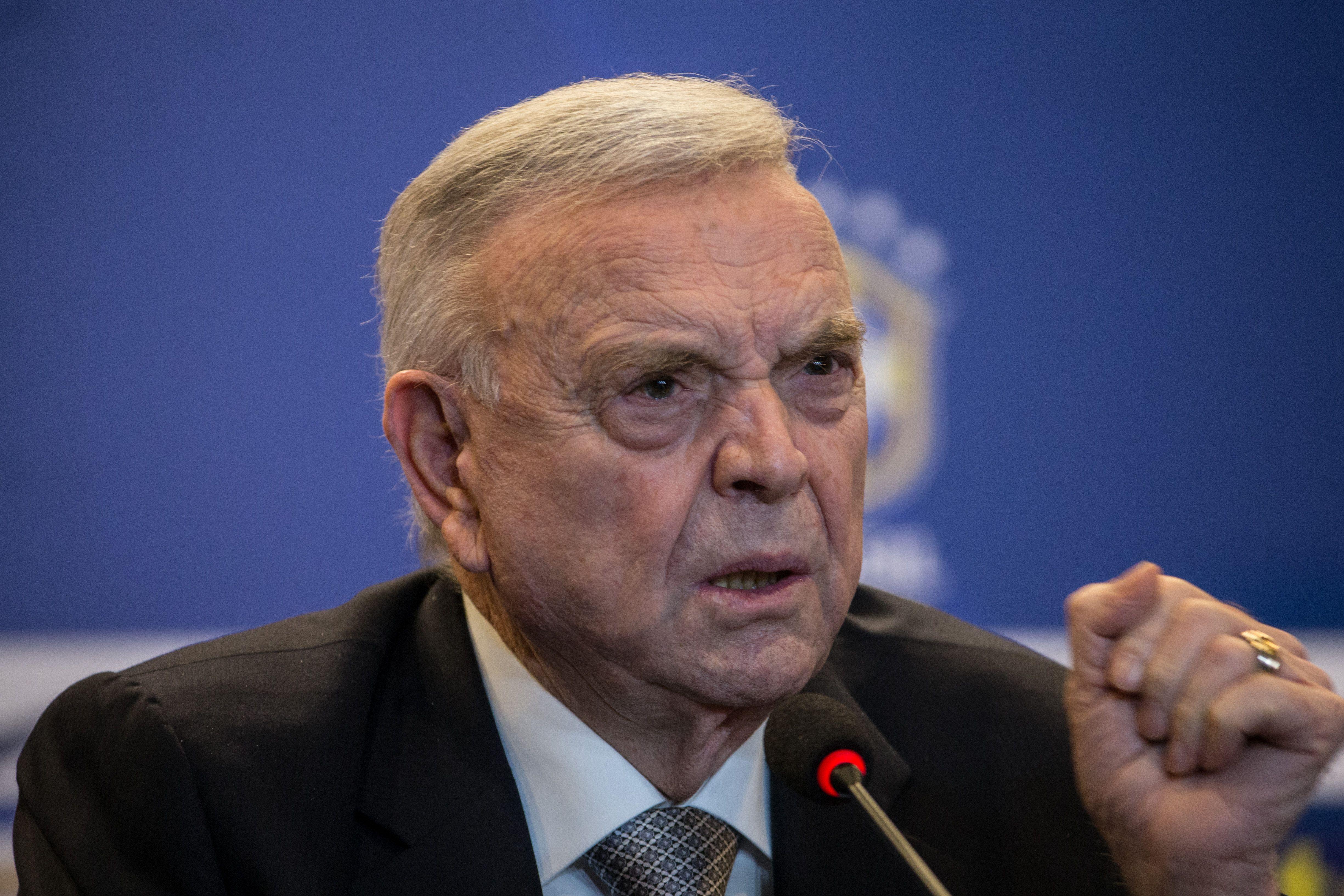 Jose Maria Marin, presidente de la Confederación Brasileña de Fútbol (CBF) (Getty Images)