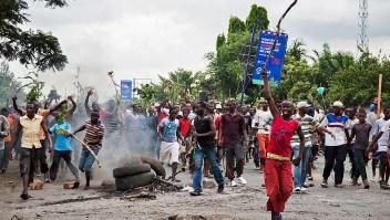 Bujumbura, la capital de Burundi.