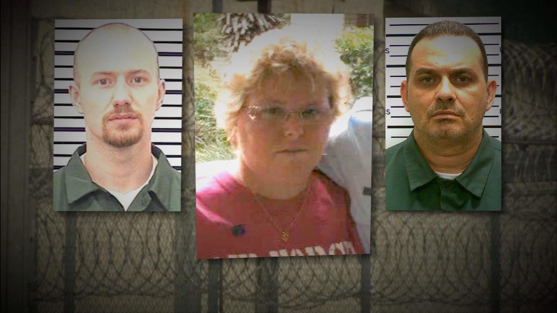 A 10 días de haber iniciado la búsqueda, las autoridades no parecen estar más cerca de encontrar a Richard Matt y a David Sweat, quienes salieron de prisión ayudados por Joyce Mitchell (Policía de Nueva York/Facebook).