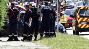 Fuerzas de seguridad y de emergencia se dirigieron al lugar del ataque (Getty Images).