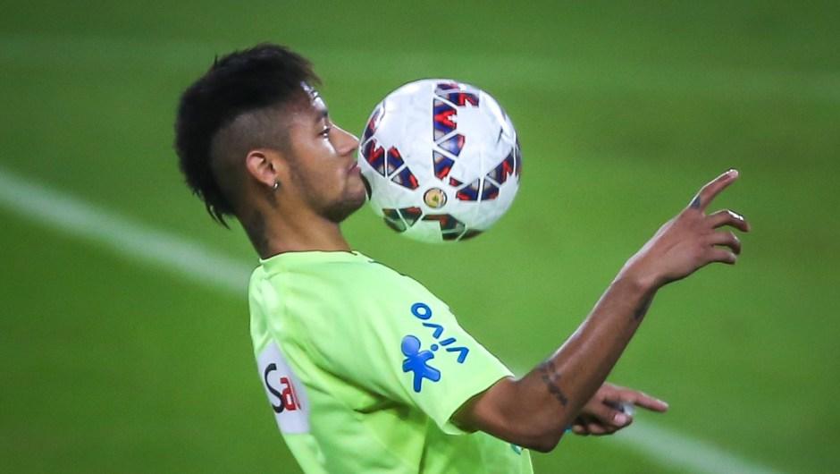 Neymar, estrella de Brasil (Crédito: JEFFERSON BERNARDES/AFP/Getty Images)