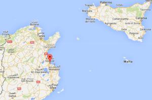 Un ataque terrorista fue perpetrado en la costa este de Túnez, un centro turístico muy importante de ese país, según reportes del ministerio del Interior. (Crédito: GoogleMaps)