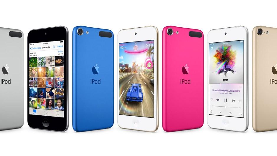 La nueva línea de iPod Touch.