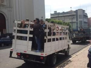 La fuerza pública acompañará a la población de El Salvador de la amenaza de las pandillas. (CNN/Merlín Delcid)