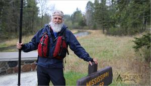 Dale Sanders, del Bluff City Canoe Club.