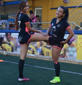 """Juliana, juega en """"Las Divas del Fútbol"""", un equipo aficionado en la ciudad de Medellín. (Crédito: Instagram/juli_lopezs)"""