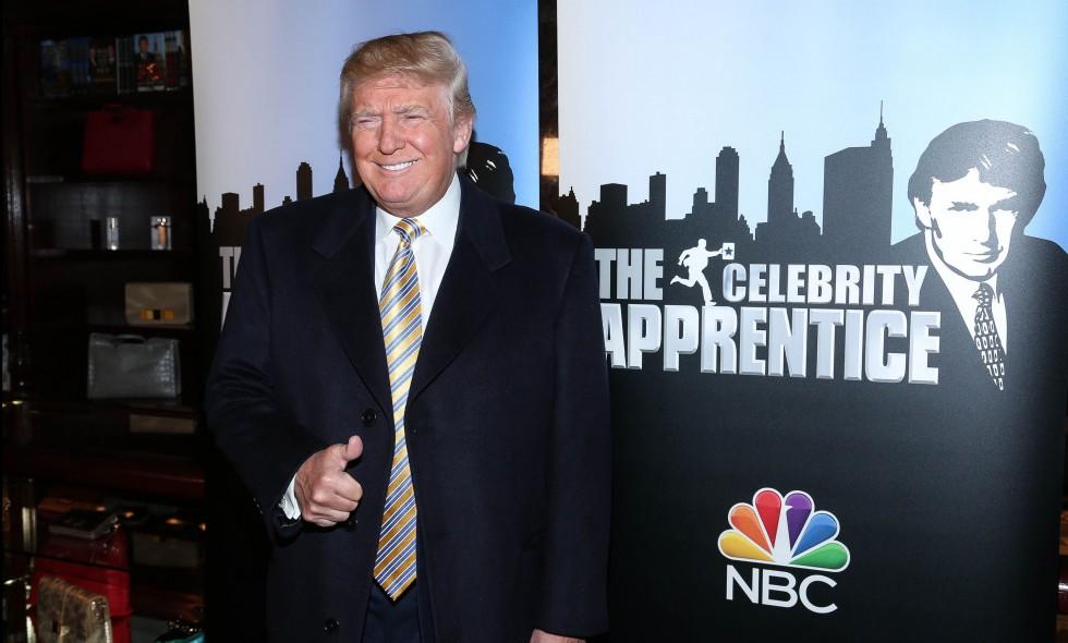 """Donald Trump acude a la alfombra roja de """"Celebrity Apprentice"""" en Nueva York el 20 de enero de 2015 (Cortesía: Rob Kim/Getty Images)"""
