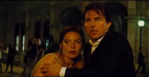Tom Cruise y Rebecca Ferguson protagonizan la quinta entrega de la saga de películas Misión Imposible. (Crédito: Paramount/Cortesía)