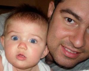 Milán tenía un año de edad cuando su padre fue enviado a la cárcel. Este es el momento en el que Zvonko Matkovic fue enviado a prisión. (Crédito: Cortesía/Patricia Barrón)