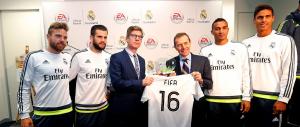 EA Sports será el el Oficial Video Gaming Partner del Real Madrid por los próximos tres años. (Crédito: RealMadrid/Helios de la Rubia)