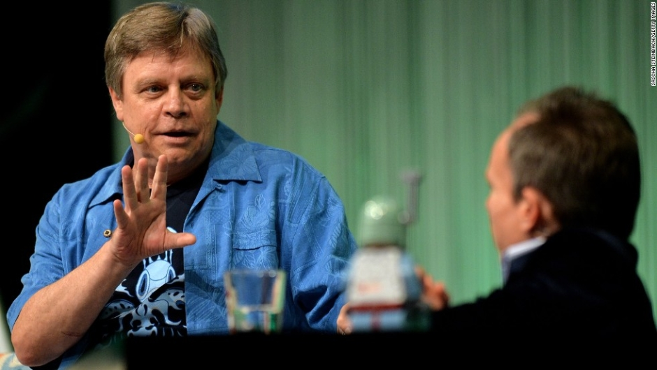 Actor and producer Mark Hamill, best known for his performance as Luke Skywalker in the original Star Wars trilogy, attends the Star Wars Celebration at Messe Essen on July 27, 2013 in Essen, Germany.