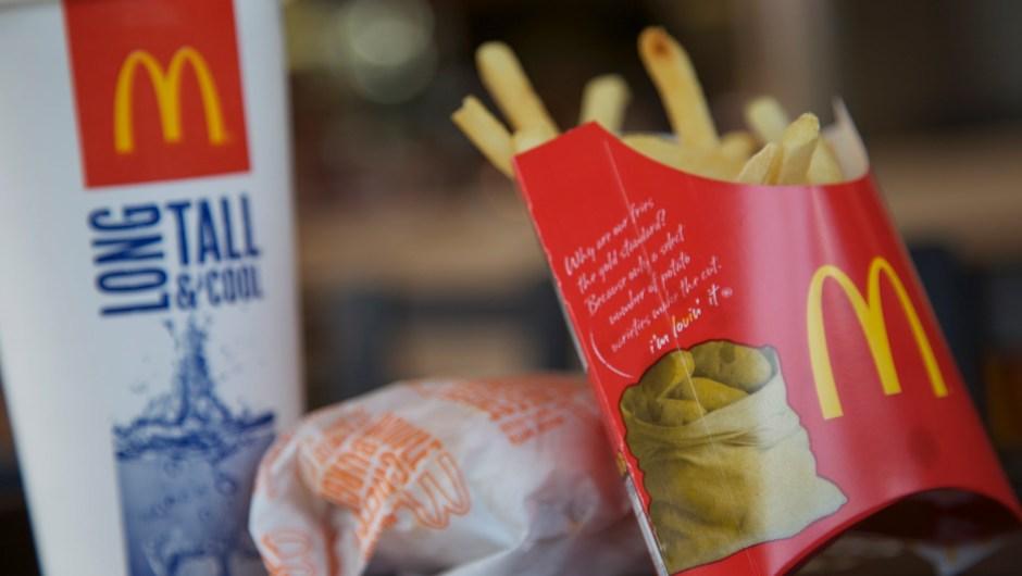 McDonalds, fast food, health Graphics project