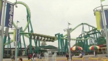 hombre muere montaña rusa Cedar Point Raptor