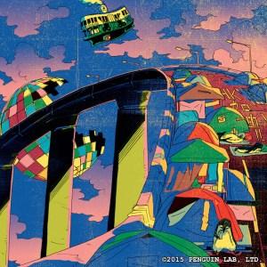 Kong Kee incorporó escenas familiares de Hong Kong en el libro de tiras cómicas, tal como manifestantes que acampan en el Almirantazgo durante la Revolución de los Paraguas.
