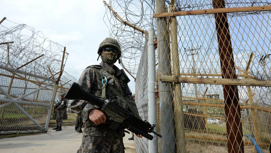 Frontera coreas