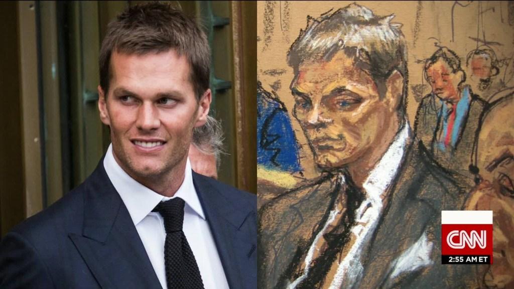 Tom Brady courtroom