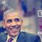 Esta es la tarjeta digital que se difundió desde la cuenta de Twitter @BarackObama para felicitar al presidente.