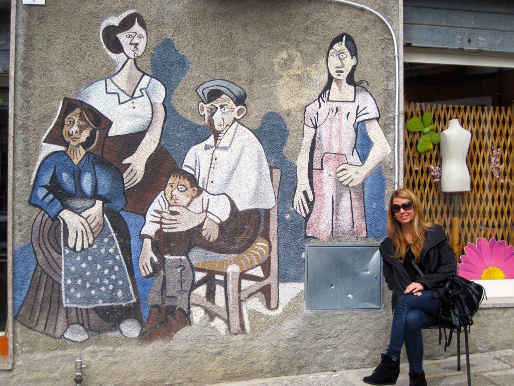 Elizabeth en Italia, uno de sus países favoritos para visitar. (Crédito: Elizabeth Pérez/CNN)