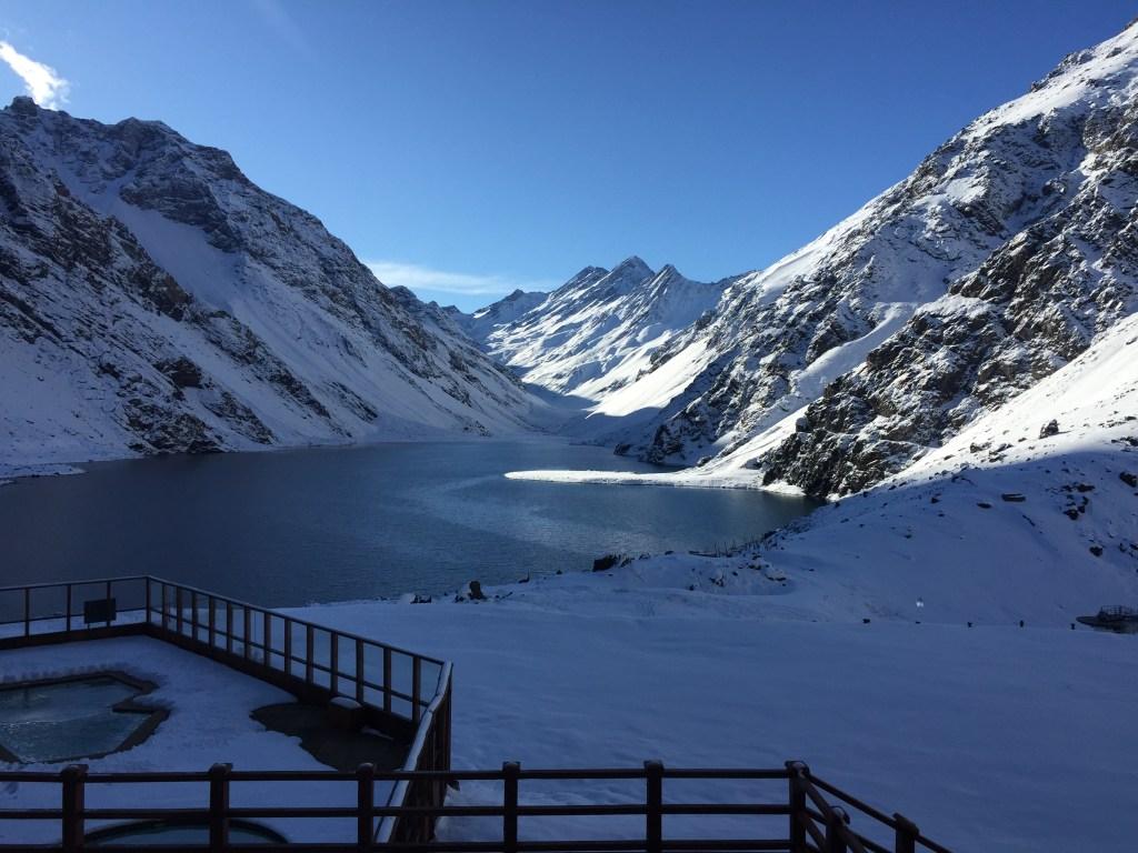 El centro de esquí que frecuenta Carlos Montero desde hace 20 años. (Crédito: Carlos Montero/CNN)