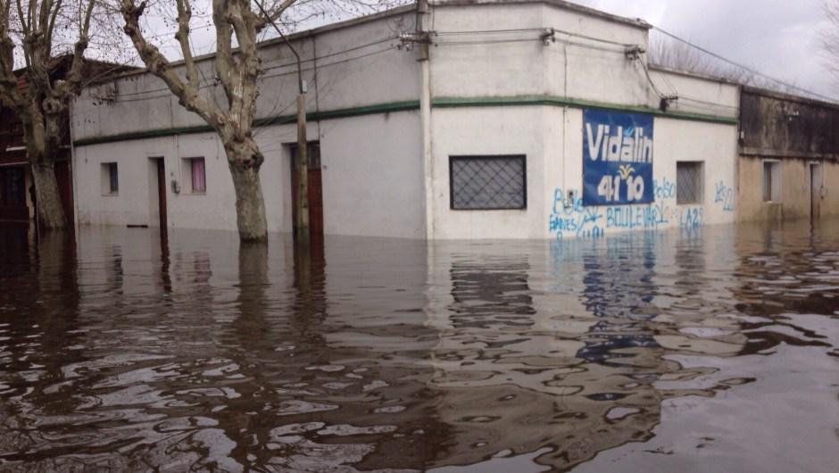 Inundaciones Uruguay 2015
