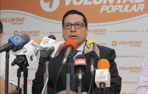 Omar Mora Tosta, abogado defensor de Raúl Isaías Baduel. (Crédito: Twitter/Voluntad Popular)