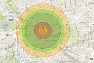 Madrid Nukemap bomba nuclear
