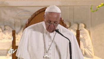 Discurso papa Centro de Caridad