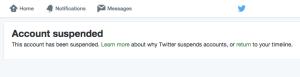 La cuenta de @TarekWiliamSaab fue suspendida por la red social Twitter.
