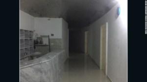 CNN obtuvo esta foto de un hospital clandestino en un lugar desconocido de Siria.