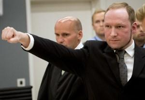 Anders Behring Breivik fue acusado como el responsable de la masacre de Oslo. Fue condenado a 21 años de prisión. (Crédito: ODD ANDERSEN/AFP/Getty Images)