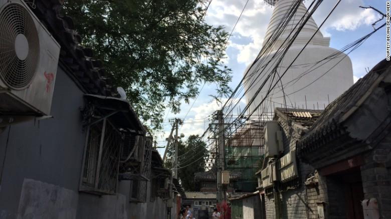 """A los arquitectos de la zona histórica de """"Baitasi"""", o la pagoda blanca, se les pidió que trabajaran en estudios de casos que exploraran el futuro de la vivienda tradicional de Beijing. (Crédito: Beijing Design Week)"""