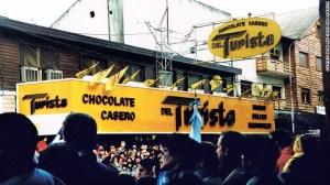 Bariloche es famoso también por sus tiendas de chocolate.