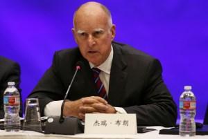 Jerry Brown, gobernador de California. (Crédito: Matt Mills McKnight-Pool/Getty Images)
