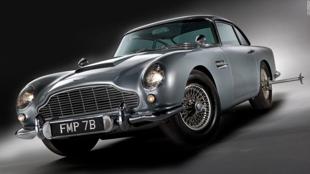 El Aston Martin DB5 es considerado el favorito de los fans de James Bond.