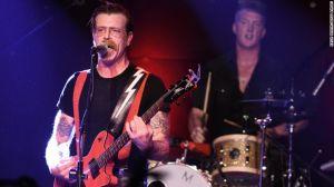 Eagles of Death Metal, la banda que se estaba presentando en Bataclan en París cuando sucedieron los ataques.