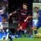 El 'Chory' Castro (izq.), Lionel Messi (centro) y Carlos Tévez aspiran a llevarse el galardón. Crédito: Getty Images.