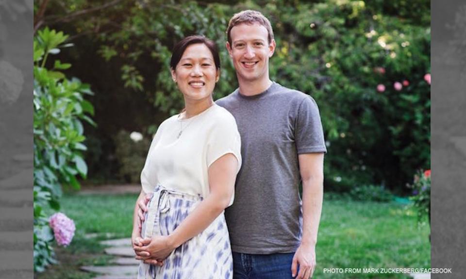Marc Zuckerberg y su esposa Priscila Chan esperan su primer hijo que nacerá a principios de 2016. (Crédito: Facebook/Marc Zuckerberg)