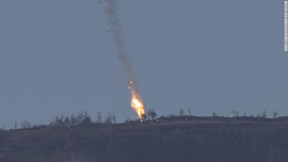 Turquía derribó un cazabombardero ruso el pasado 24 de noviembre en la frontera de Turquía y Siria.