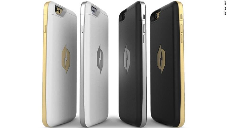Funda para smartphone Nikola Labs, 99 dólares