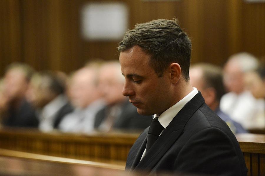 Oscar Pistorius, en una audiencia en octubre del año pasado (Herman Verwey/Foto24/Gallo Images/Getty Images).