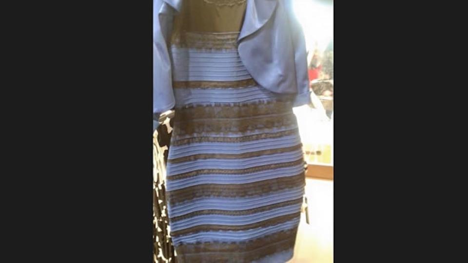 El vestido más viral de las redes en 2015.