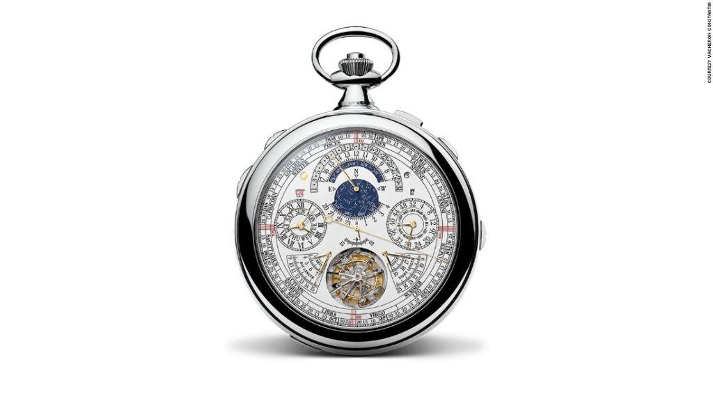 El Reference 57260 de Vacheron Constantin es comercializado como el reloj más complicado del mundo.