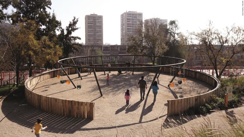 Parque Bicentenario de la Infancia, Santiago, Chile