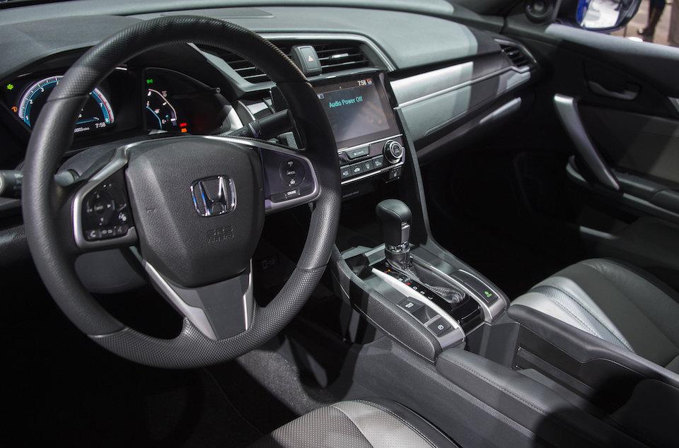 El interior del nuevo Honda Civic( Crédito: JIM WATSON/AFP/Getty Images)
